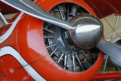 Radial aircraft engine Royalty Free Stock Photos