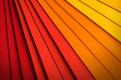 Radial Background. Radial abstract background with blending colors from red to yellow stock photo