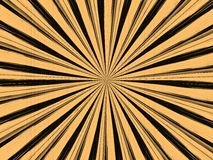 Radial background. In retro style Royalty Free Stock Photography