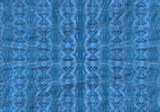Radial blue pattern Royalty Free Stock Photos