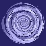 Abstract Swirl Bud stock illustration