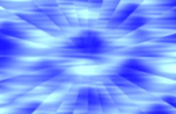 Radial Blur in Shades of Blue Royalty Free Stock Photography