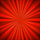 Radial Bright Orange textile pattern Stock Images