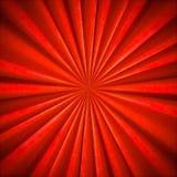 Radial Bright Orange textile pattern Stock Images