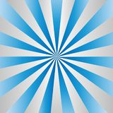 Radial Gradated Grey Stripes Texture in Blue Background vector illustration