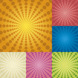 Radial circles Royalty Free Stock Images