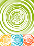 Radial circles abstract background. Spiral, vortex geometric pat. Tern - Royalty free vector illustration Royalty Free Stock Photos