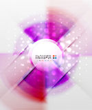 Radial colorful futuristic background Royalty Free Stock Image