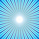 Radial colorido brillante, irradiando líneas Vagos de Starburst/del resplandor solar stock de ilustración