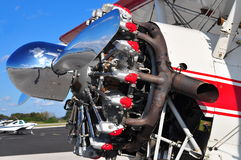 Radial Engine Royalty Free Stock Photos