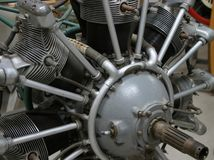 Radial Engine. A radial airplane engine royalty free stock photography