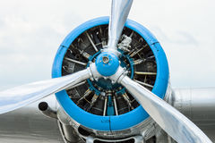 Radial engine. Royalty Free Stock Photos
