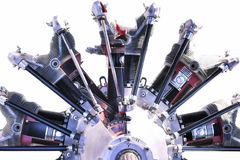 Radial Engine Royalty Free Stock Images