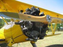 Radial Engine. Stearman PT 17 Radial Engine stock photo