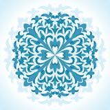 Radial floral pattern Stock Photos