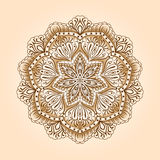 Radial floral pattern Stock Images