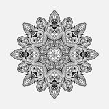 Radial geometric ornament Stock Images