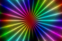 Radial glowing abstract pattern C. Abstract background with the bright radial glowing pattern Royalty Free Stock Image