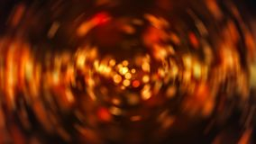 Radial gold blur background. Digital illustration Royalty Free Stock Photography