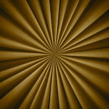 Radial Golden textile pattern royalty free stock photo
