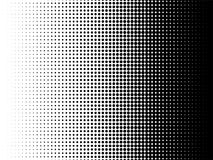 Radial halftone pattern texture vector background. Radial halftone pattern texture. Vector black and white radial dot gradient background for retro, vintage royalty free illustration