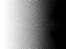 Radial halftone pattern vector gradient background vector illustration