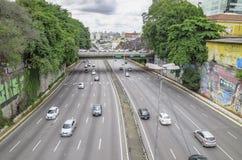 Radial-Leste - Sao Paulo SP Brasilien lizenzfreies stockbild