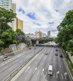 Radial-Leste - Sao Paulo SP Brasilien lizenzfreie stockbilder