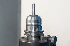 Radial mill CNC tool. Closeup. Radial mill CNC tool. Milling and drilling industry. Closeup Stock Images