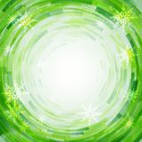 Radial mosaic  background. Royalty Free Stock Images