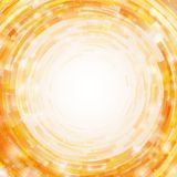 Radial mosaic vector background. Royalty Free Stock Photo