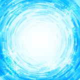 Radial mosaic vector background. Stock Photo