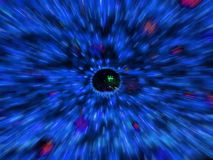 Radial motion blur / zooming effect. Stock Photography