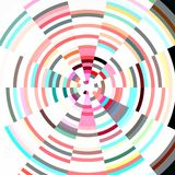 Radial Pastel Abstract Background Stock Photos