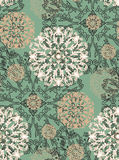 Radial pattern of plant elements. Radial pattern of plant elements can be used as wedding background, fabric print, wrapping paper, web page backdrop, wallpaper Royalty Free Stock Images