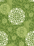 Radial pattern of plant elements. Radial pattern of plant elements can be used as wedding background, fabric print, wrapping paper, web page backdrop, wallpaper Stock Photography