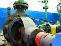 Radial pump industrial water Royalty Free Stock Image