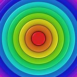 Radial Rainbow Royalty Free Stock Image