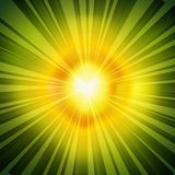 Radial Rays Background Stock Photo