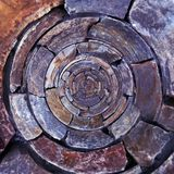 Radial Rock Pattern Stock Photos