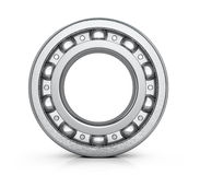 Radial roller bearing isolated white background. Stock Images