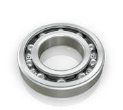 Radial roller bearing  white background. Stock Photo