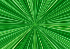 Radial speed lines with focus in the center. Abstract fractal background with bright green rays. Zoom effect. Radial speed lines with focus in the center Stock Photography