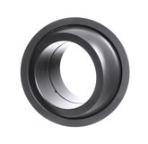 Radial spherical plain bearing. Isolated on white Royalty Free Stock Photos