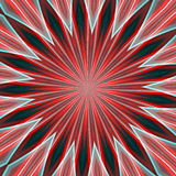 Radial star abstract background. Radial star like abstract image in red hues and lights, abstract background Royalty Free Stock Photography