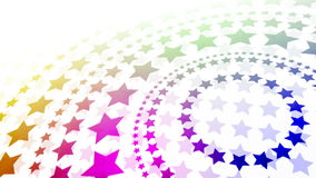 Radial Stars Royalty Free Stock Photo