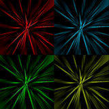 Radial striped abstract background Royalty Free Stock Images