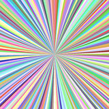 Radial stripes background - ray burst graphic Royalty Free Stock Images