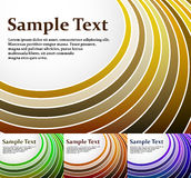 Radial stripes vector background Stock Photo