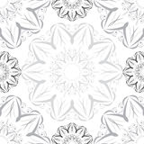 Vintage Radial Seamless Pattern Royalty Free Stock Photography